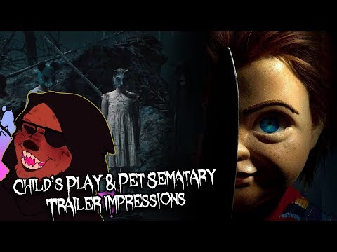 Dr. Wolfula - 'Child's Play' & 'Pet Sematary' (2019) Trailer IMPRESSIONS!