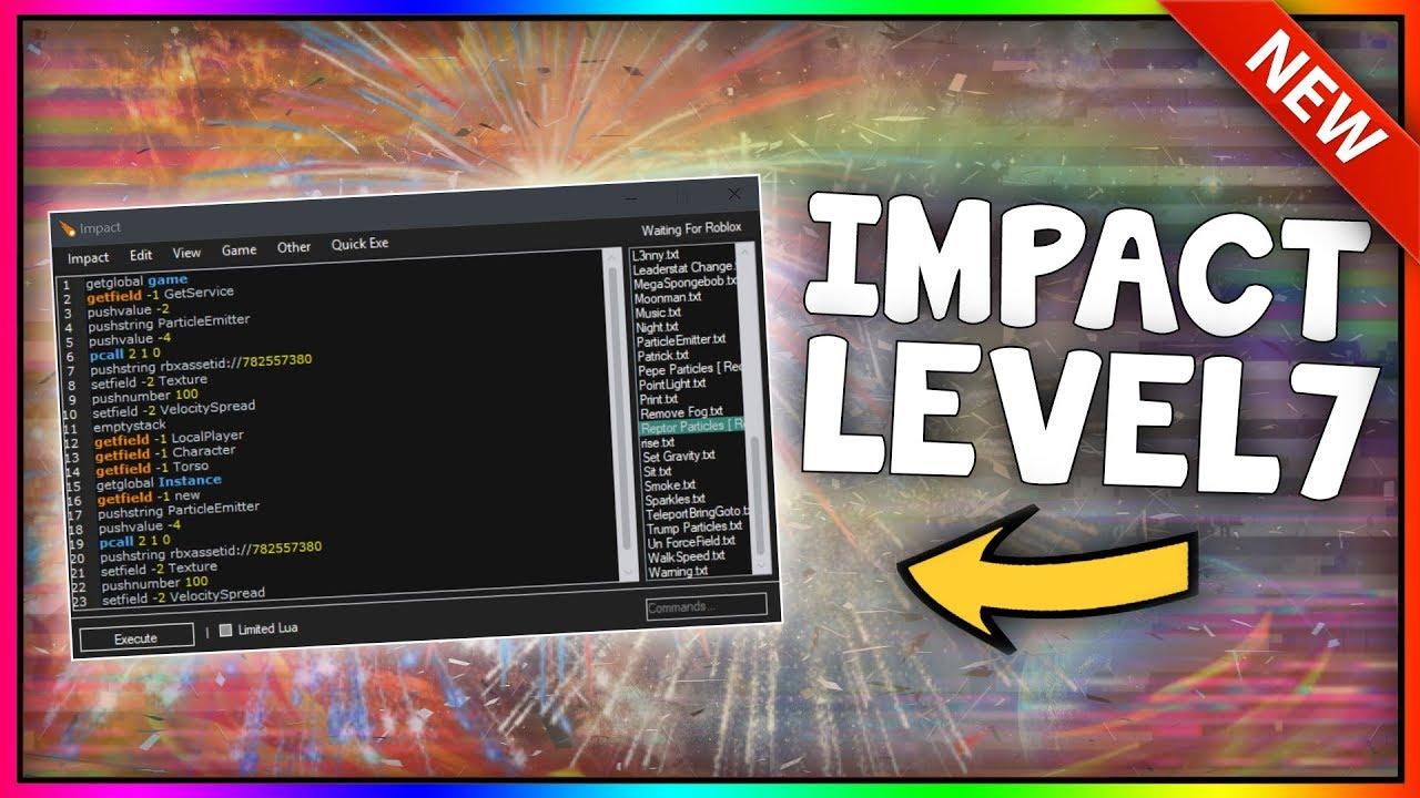 New Roblox Exploit Impact Patched Limited Lua C Lua Script