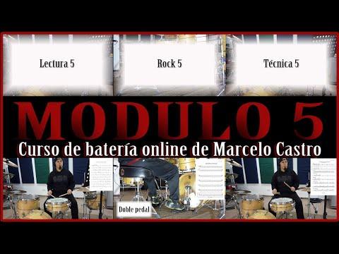 Trailer Modulo 5 del curso de batería online
