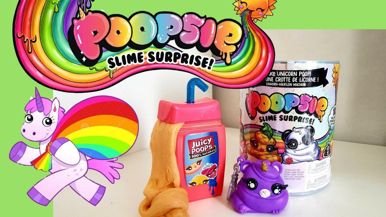 Nouveauté Slime 2018 Le Kit Poopsie Slime Surprise Licorne Youtube