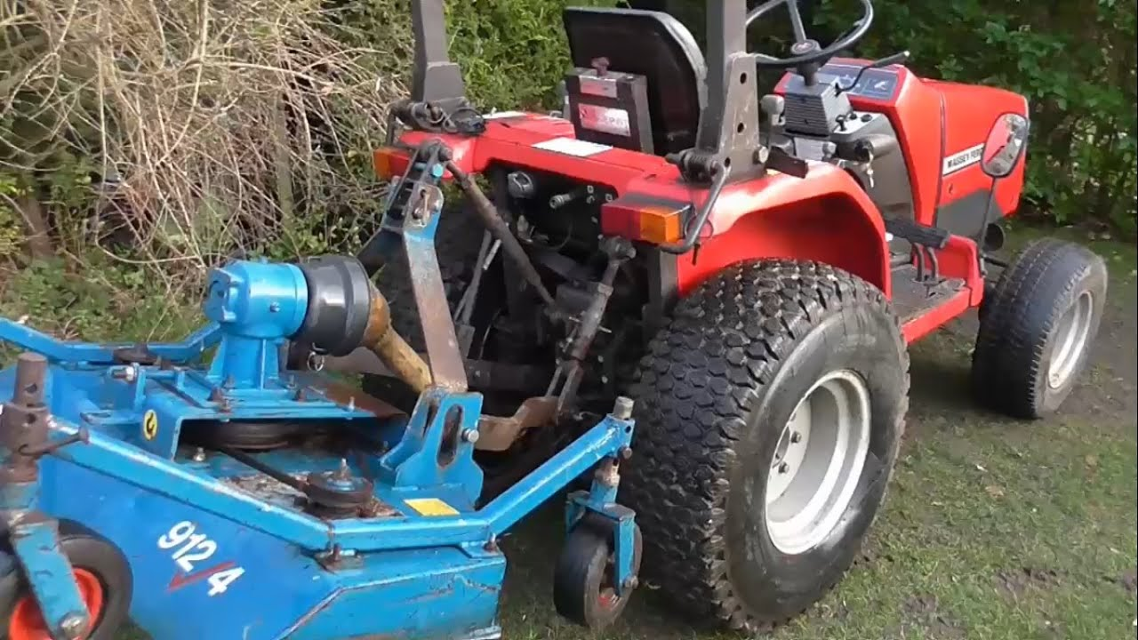 Massey Ferguson 1220 Tractor Parts : Working on the wessex tractor topper part youtube