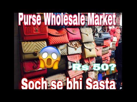 Purse Wholesale Market | Sadar Bazar | Matke vali Gali
