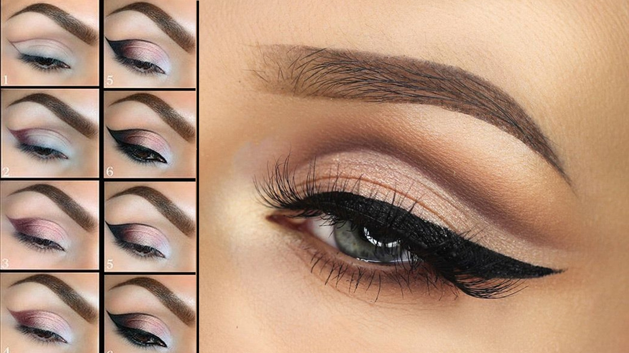 smokey eye party makeup tutorial step by step |learn how to apply