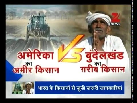 DNA: Comparative analysis of farmers in India Vs California