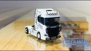Trux Scania CR 20 HD Zugmaschine Trux Rammschutz 310734 Herpa