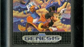 CGR Undertow - WORLD OF ILLUSION STARRING MICKEY MOUSE AND DONALD DUCK review for Sega Genesis
