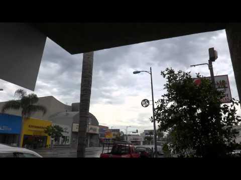 Rare San Fernando Valley Weather