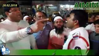 Charminar Pedestarian Project se Hawkers Hai  Pareshaan aur Traffic Police  ka Zulm -e- Challan
