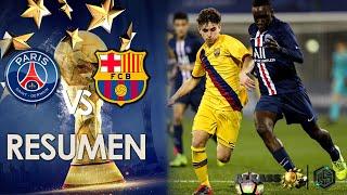 Paris Saint Germain vs FC Barcelona Al kass International Cup 2020