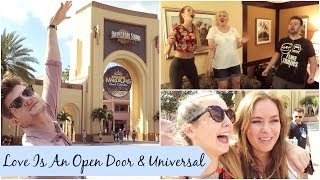 Love Is An Open Door & Universal | Florida Day Three