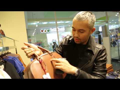 Александр Рогов в магазине Zarina