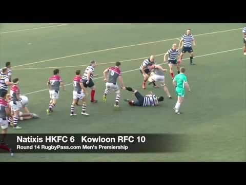 Round 14 RugbyPass com Men's Premiership   Natixis HKFC vs Kowloon RFC Highlights