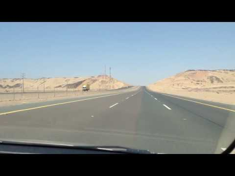 Road trip from Jeddah to....Yanbu -The city of springs.