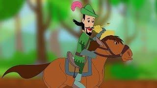 Robin Hood and the Golden Arrow Full Movie - Bengali Fairy Tales - রবিনহুড - Bangla Rupkothar Golpo
