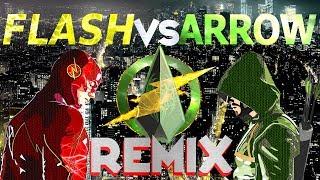 THE FLASH VS ARROW – [Styzmask Remix] (Reupload)