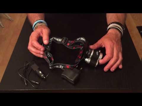 GearBest= Boruit RJ-3000 Headlamp