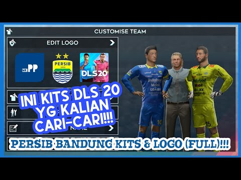 How To Create Persib Bandung Team Kits & Logo | Dream League Soccer 2019 Persib Bandung Team Kit & L.