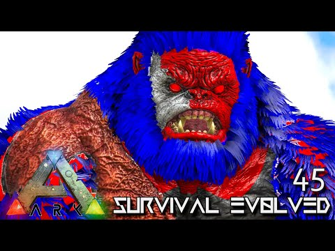 ARK: SURVIVAL EVOLVED - KING KONG KILLER APEX MEGAPITHECUS !!! | PRIMAL FEAR ISO CRYSTAL ISLES E45 thumbnail