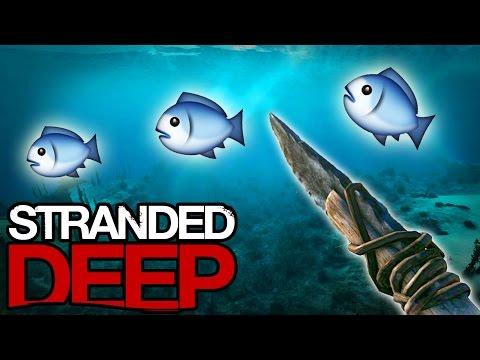 Stranded Deep - Spear FISHING! (Stranded Deep #6)