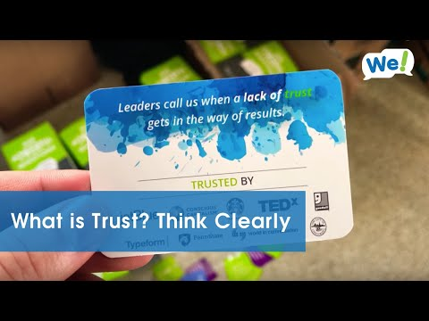What is Trust? Think Clearly