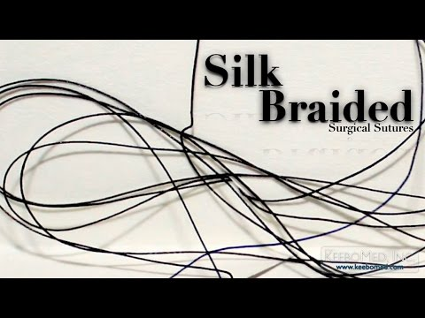 Silk Braided Surgical Sutures