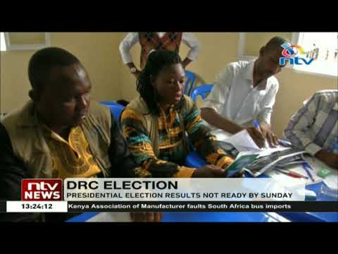 Release of DRC presidential election results to be delayed