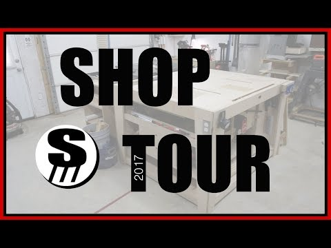 Woodworking Shop Tour – rock and Sons Workshop