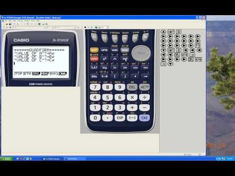 Programming with Casio Graphing Calculators (Part 1): Inputs & Outputs