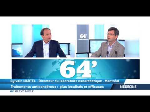 Sylvain Martel : des nanorobots pour lutter contre le cancer