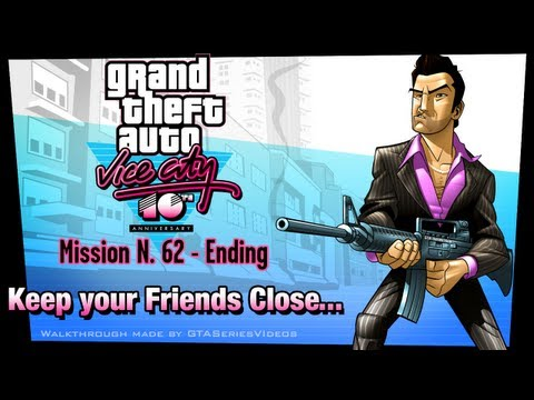 GTA Vice City - iPad Walkthrough - Ending / Final Mission - Keep Your Friends Close...