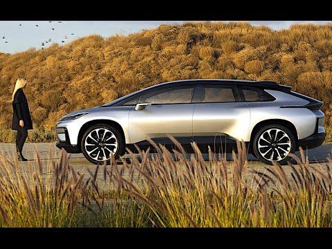 Faraday Future FF 91 2017 World Premiere CES Faraday Future FF 91 Electric Self Driving Car CARJAM