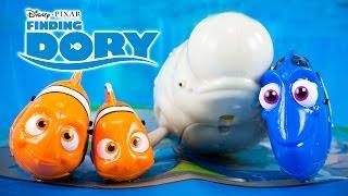 Finding Dory Movie Toys Dory Marlin Nemo Bailey ZURU Robofish Disney Finding Nemo Kinder Playtime