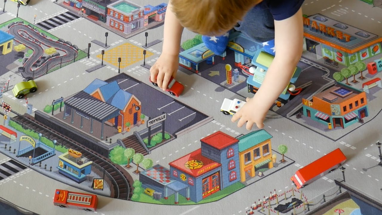 Le Toy Van Giant Car Play Mat Review Thedadlab Youtube
