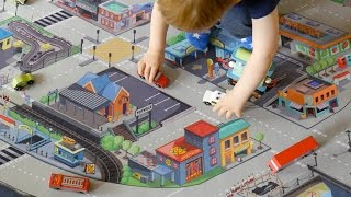 Le Toy Van Giant Car Play Mat Review - TheDadLab