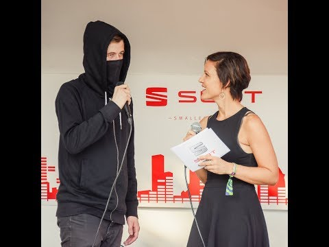 Alan Walker about how he taught himself to produce music/first live performance