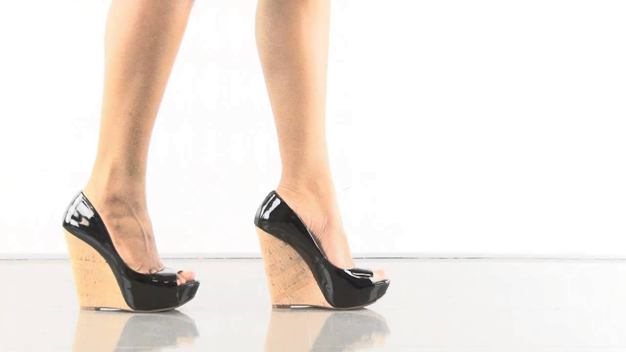 1b6b7f8a8600 Bethani in Black Patent Jessica Simpson - YouTube