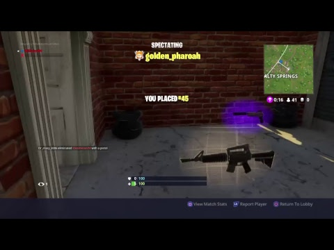 Fornite battle royal  New IMPULSE GRENADE first time on pc