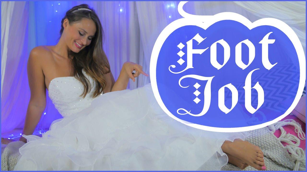 How does a footjob feel