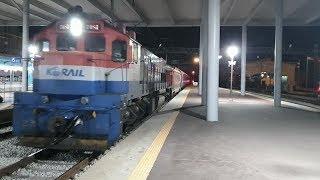 서울행 팔도장터관광열차 #4550 익산역 진입(DEL …