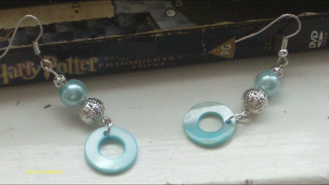 diy  u2665 make your own earrings