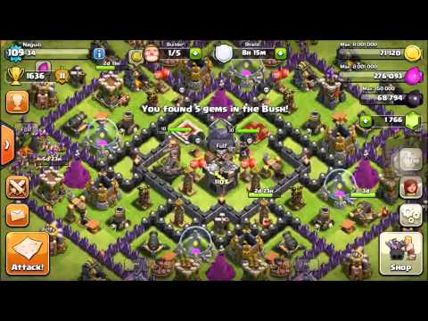 Clash of Clans- Getting a Level 3 Xbow and a Level 11 Archer Tower!