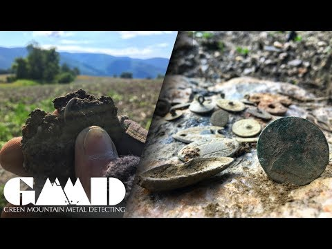Coins Found Older Than America Itself!  Metal Detecting Colonial Vermont