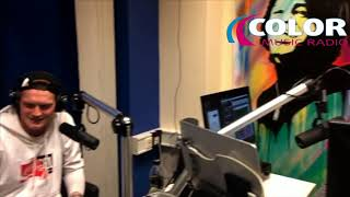 Jiri Lamos and Kristian Cernik live interview in Color Music Radio (at the end with live rap)