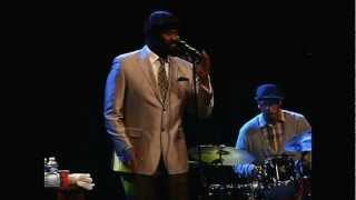 Gregory Porter  Painted on canvas live at North Sea Jazz 2012