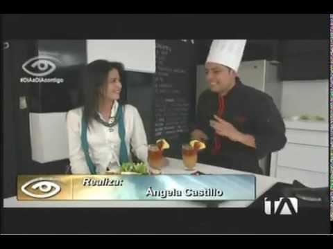 Recetas con chochos en el programa Día a Día, Teleamazonas