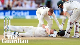 'You never like seeing your players get hit' : Justin Langer on Steve Smith incident