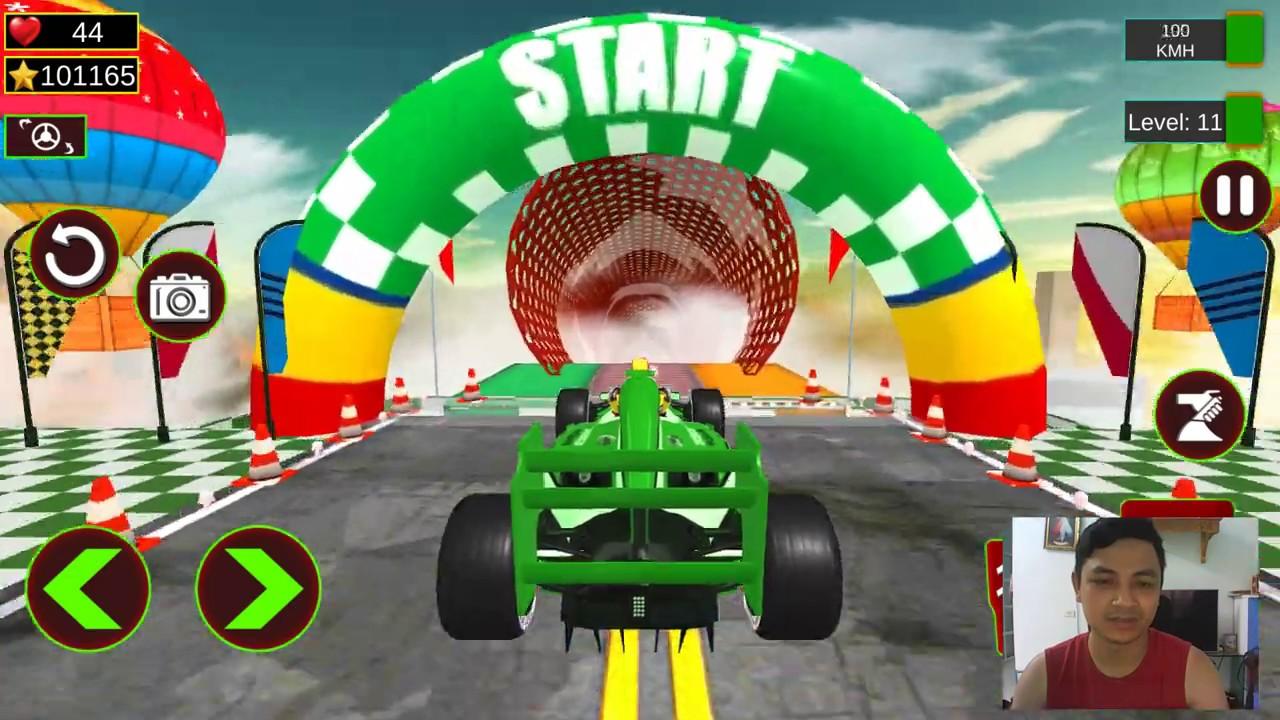 Formula Car Stunts 3D GT Racing Mega Ramp Games - Beautiful Android Gameplay 2020