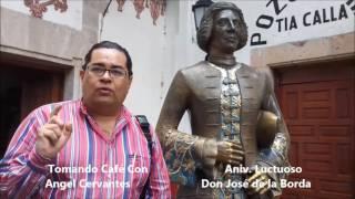 3 Angeles Noticias Tomando Cafe TC14 Aniv. Luctuoso de Don José de la Borda
