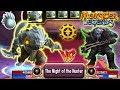 🔴Monster Legends: TAIGA level 130 vs RENGAR 130 combat PVP