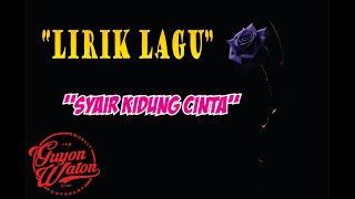 "Guyon Waton - Syair Kidung Cinta ""Lirik"""